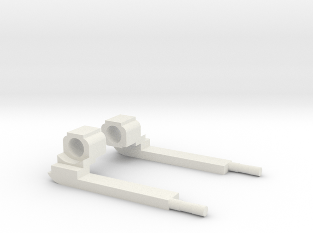 MZ 23 Garrand Set in White Natural Versatile Plastic