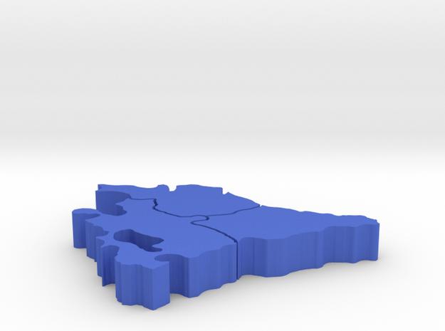 I3D PAIS VASCO in Blue Processed Versatile Plastic