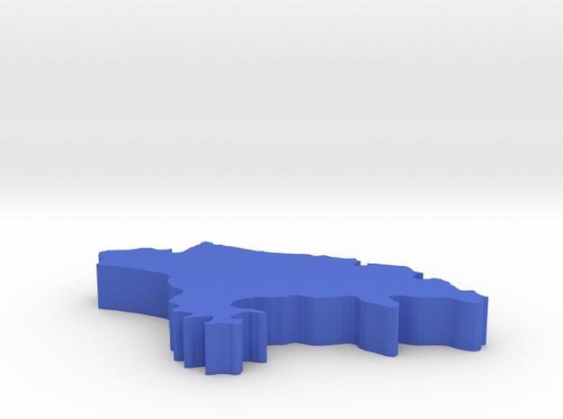 I3D CANTABRIA in Blue Processed Versatile Plastic