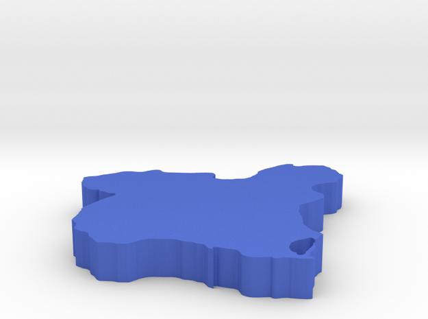 I3D MURCIA in Blue Processed Versatile Plastic