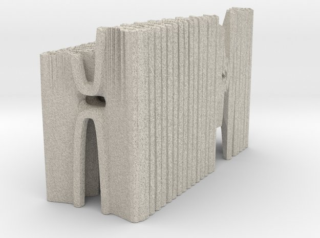 Hybrid Cathedral - Tessellate A+D  in Natural Sandstone