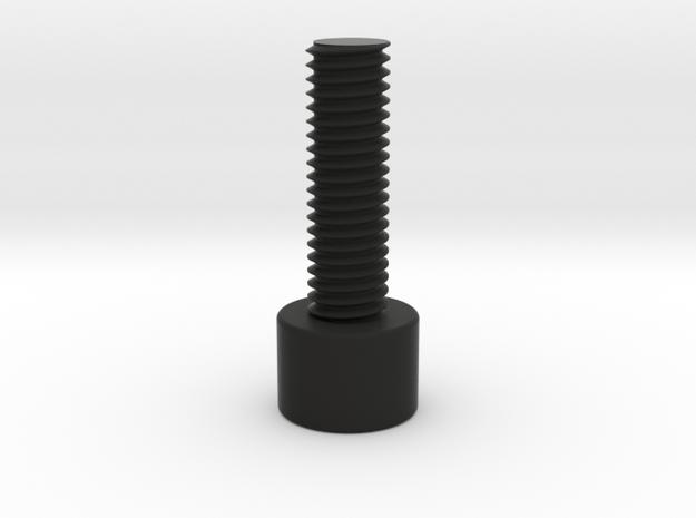 M3 bolt for Scope Mount in Black Natural Versatile Plastic