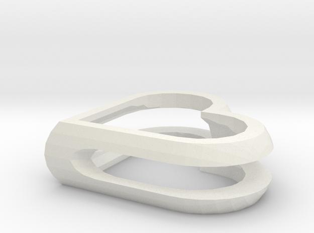 MyHeartsMini in White Natural Versatile Plastic