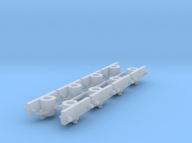DIN Lorenachslager 1:22,5 / GN 15 in Smooth Fine Detail Plastic