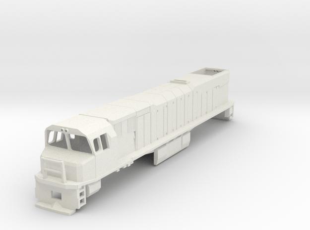 1:64 NZR DXR Original Cab in White Natural Versatile Plastic