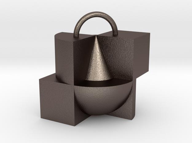 primitives II in Polished Bronzed Silver Steel