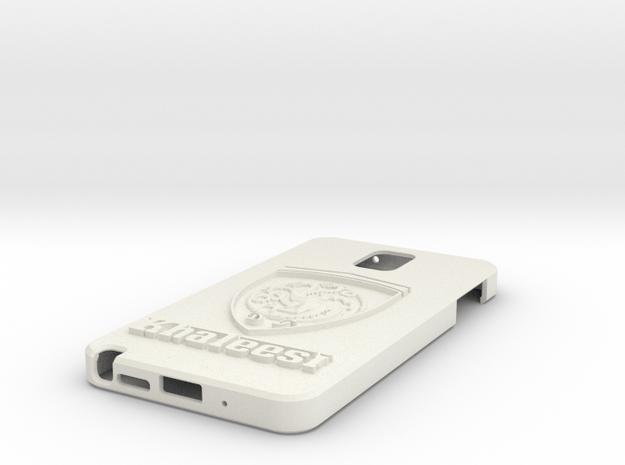 Got Note 3 Case in White Natural Versatile Plastic