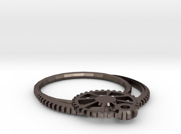 Monocle02 in Polished Bronzed Silver Steel