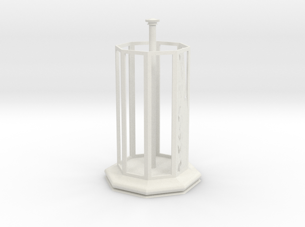 Jewelry Box in White Natural Versatile Plastic