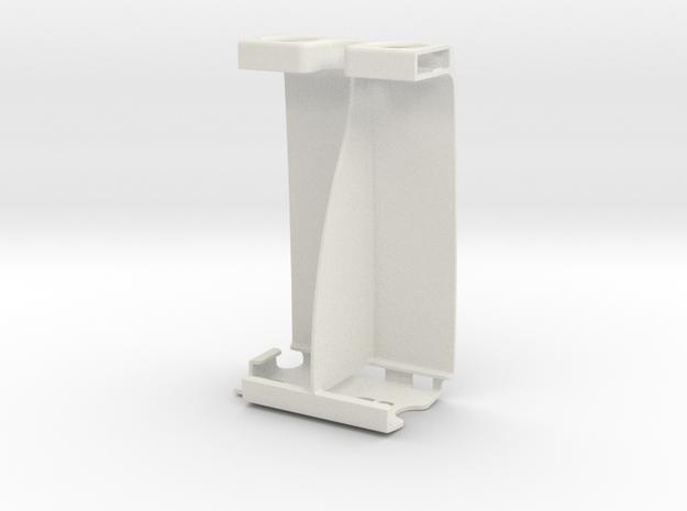 SONY Xperia Stereo Attachment in White Natural Versatile Plastic