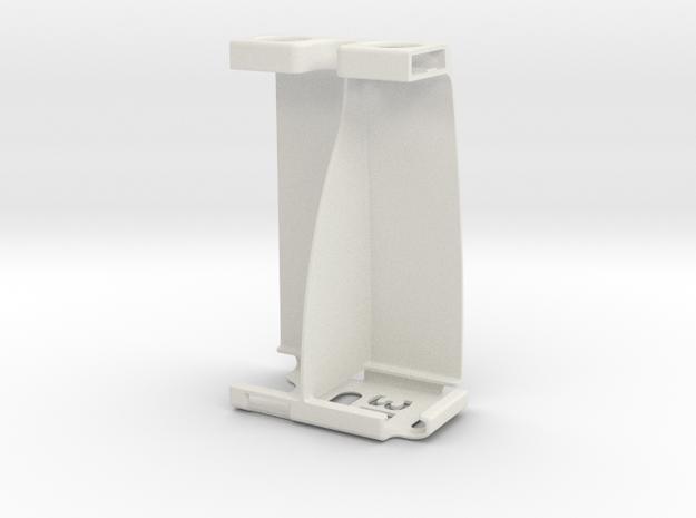 Htc One-X Stereo Attachment in White Natural Versatile Plastic