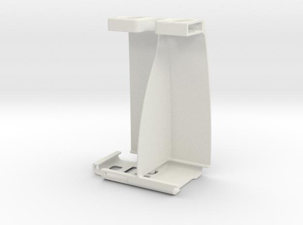Galaxy Note II Stereoscopic Attachment in White Natural Versatile Plastic