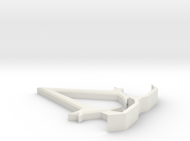 Assassins Creeed Symbol Display Piece in White Natural Versatile Plastic