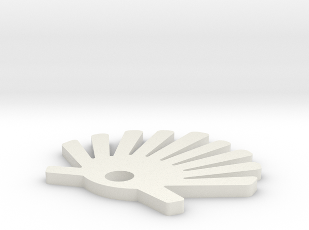 IMPRENTA3D VIEIRA in White Natural Versatile Plastic