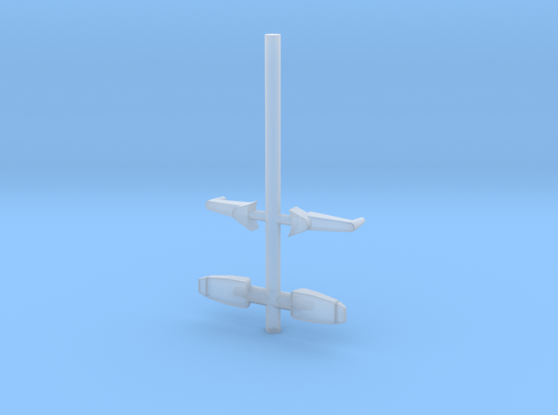 Mirrorsv2 in Smooth Fine Detail Plastic