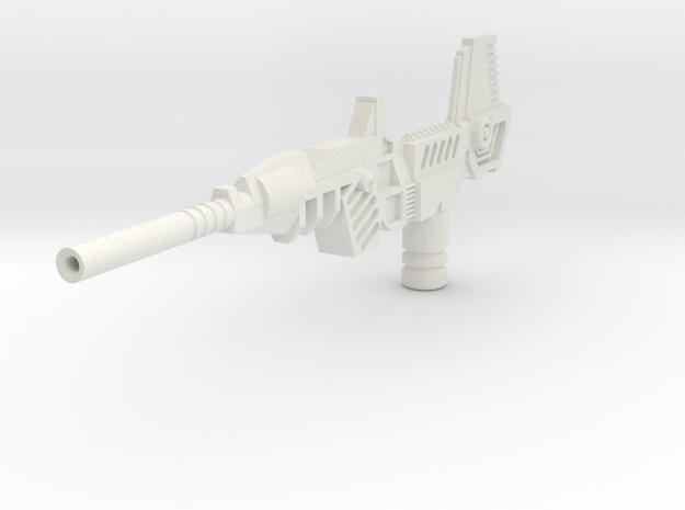 WingerBlitzer Big Blaster in White Natural Versatile Plastic