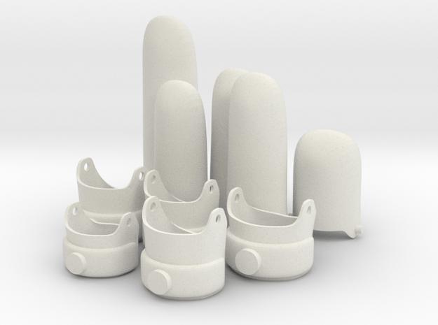 EGK S17 = 25.5mm Inside diameter in White Natural Versatile Plastic
