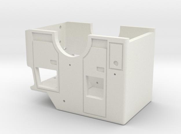 SPARTAN CAB VER3 in White Natural Versatile Plastic