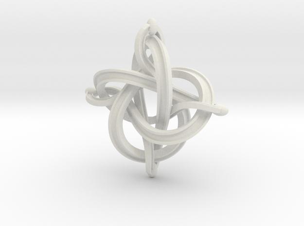 36mm4ribbonempty in White Natural Versatile Plastic