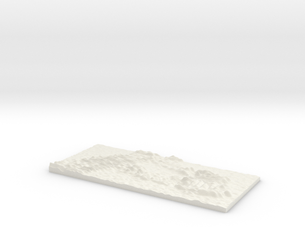 Opportunity prints on Mars in White Natural Versatile Plastic