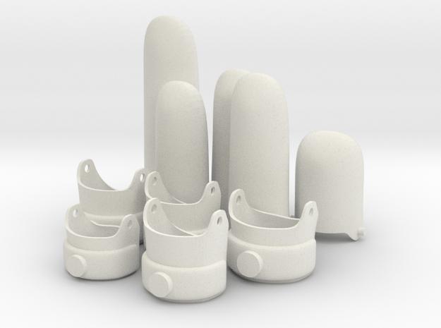 EGK S19.5 = 27.5mm Inside diameter in White Natural Versatile Plastic