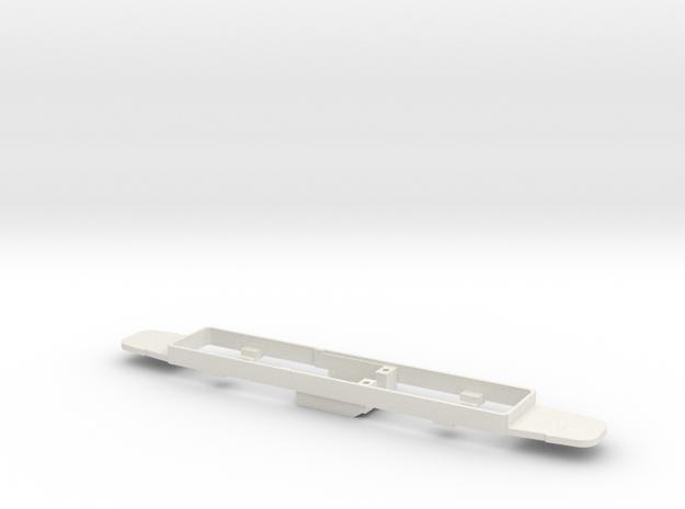 OEG Rastatter Beiwagen Bodenplatte in White Natural Versatile Plastic