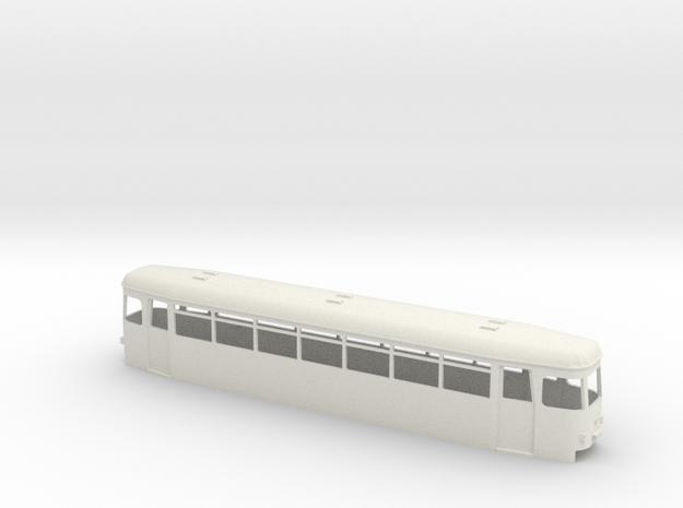 OEG Rastatter Beiwagen mod. Rückleuchten in White Natural Versatile Plastic