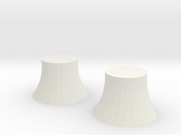 Macchina del tempo - 2 di 6 in White Natural Versatile Plastic