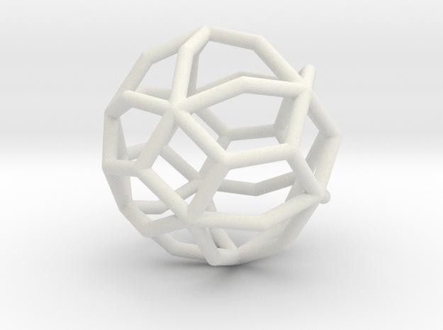 MaxiMin 42 Vertices in White Natural Versatile Plastic