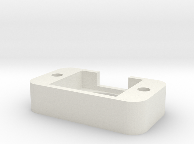 Mpu Breakout Bottom in White Natural Versatile Plastic