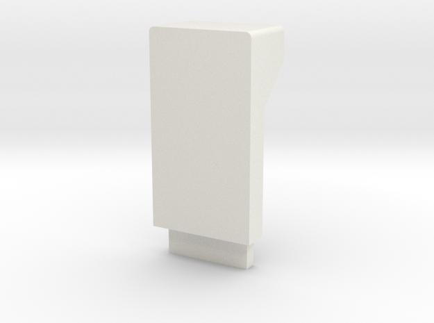 AfroMini Case Base -beta in White Natural Versatile Plastic