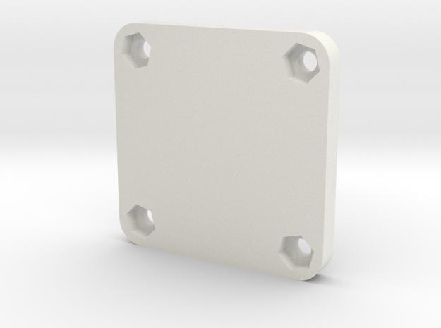 Naze32Rev5 Lower -Beta in White Natural Versatile Plastic