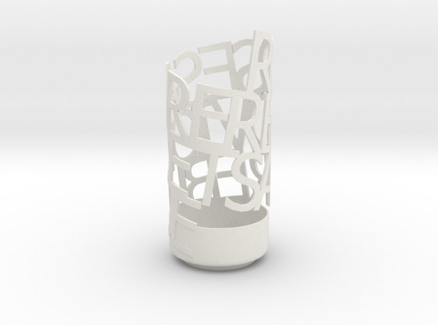 Kneel to Loki in White Natural Versatile Plastic