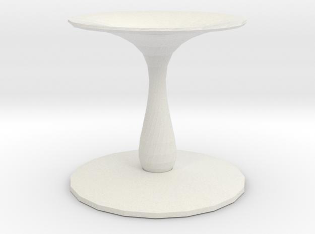 pillar vase in White Natural Versatile Plastic