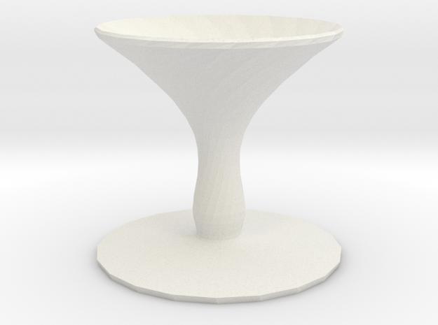 shallot vase in White Natural Versatile Plastic
