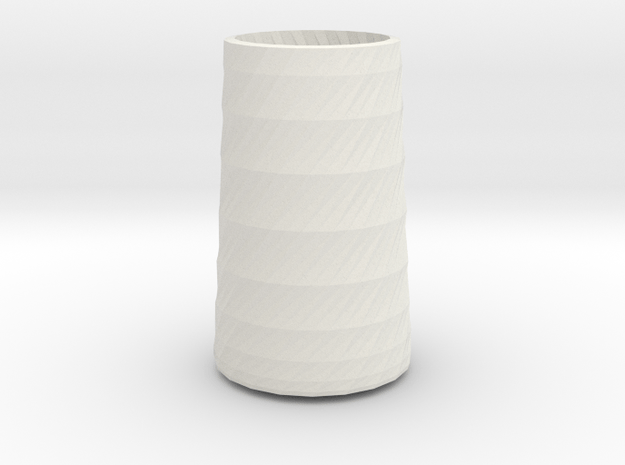 large cup in White Natural Versatile Plastic