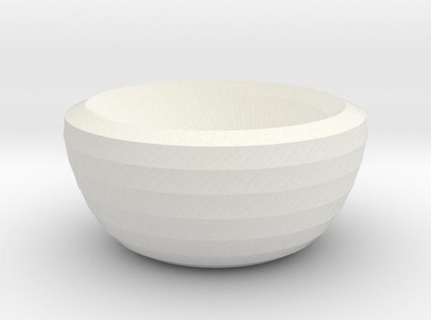 mars bowl in White Natural Versatile Plastic