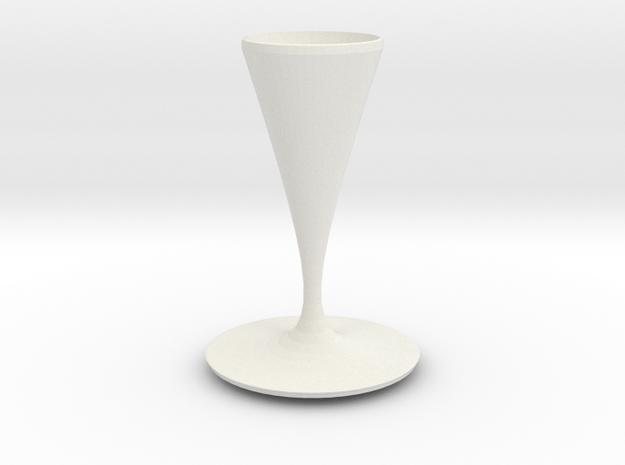 watson vase  in White Natural Versatile Plastic
