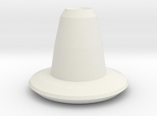 arrow vase in White Natural Versatile Plastic