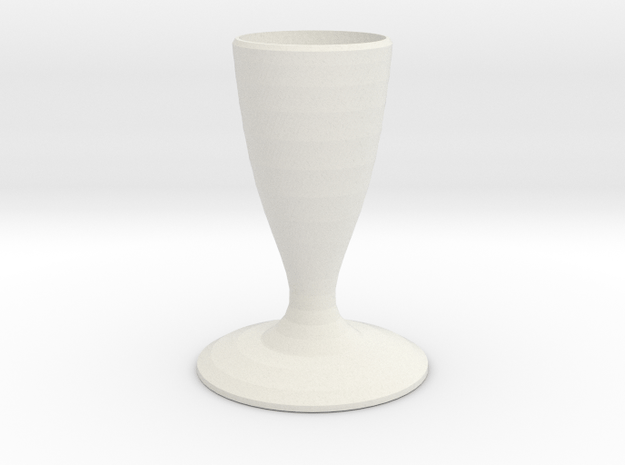 hefty smurf vase  in White Natural Versatile Plastic