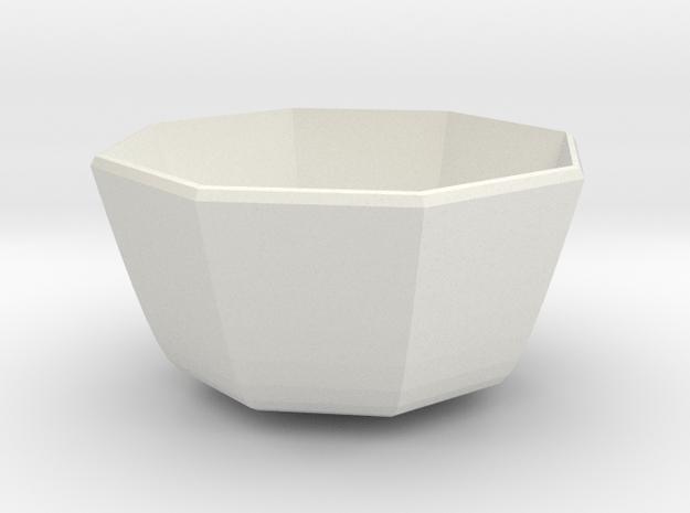 medium bowl in White Natural Versatile Plastic
