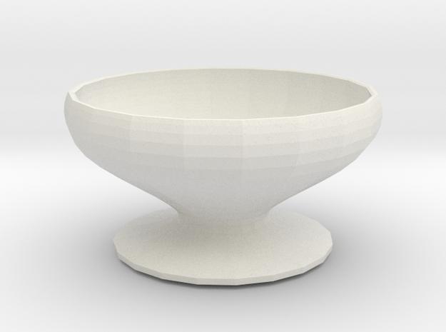 pimpernel vase in White Natural Versatile Plastic