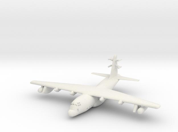 1:700 Lockheed EC-130j Commando Solo Military Airc in White Natural Versatile Plastic