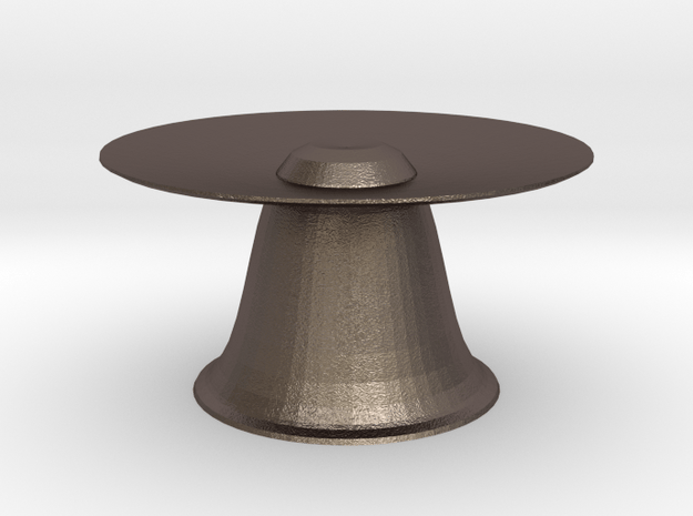 hera  multi pot plant stand in Polished Bronzed Silver Steel