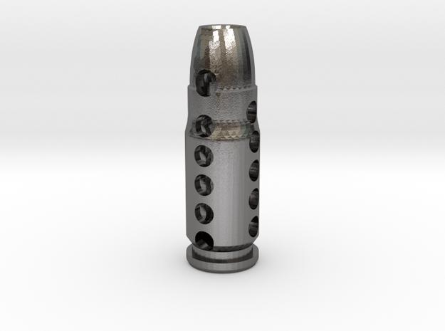 .357 SIG Blazer Caliber Lantern  in Polished Nickel Steel