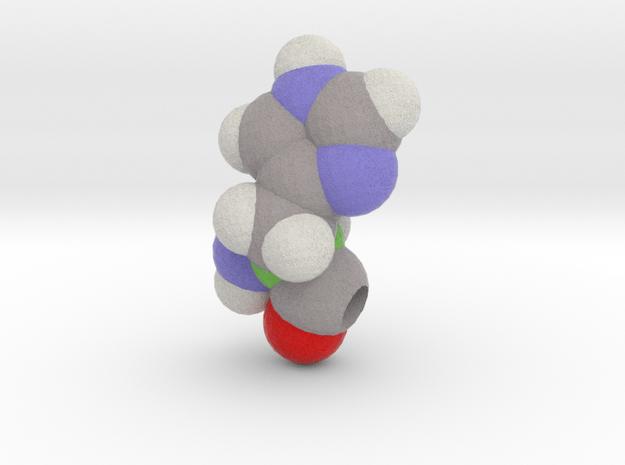 H is Histidine in Full Color Sandstone