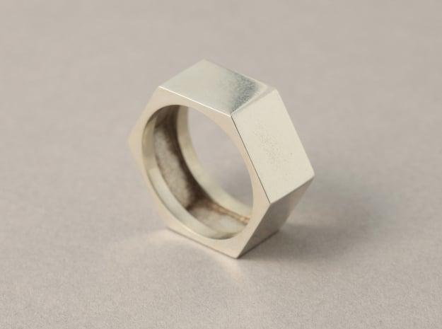 screw ring size 9,1/4 in White Natural Versatile Plastic