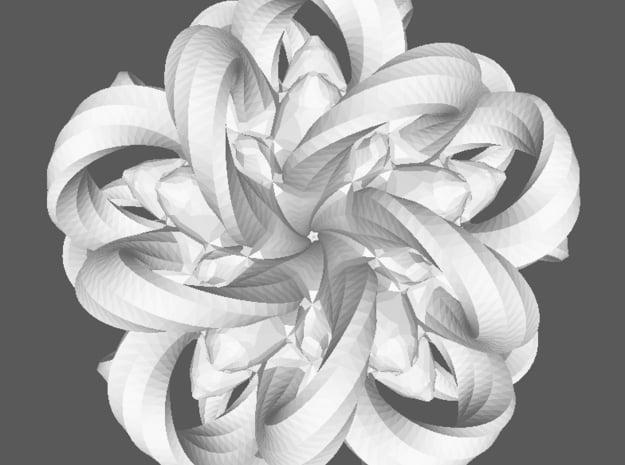 Medusa in White Processed Versatile Plastic