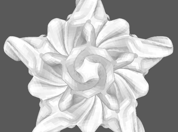 Starfish in White Processed Versatile Plastic