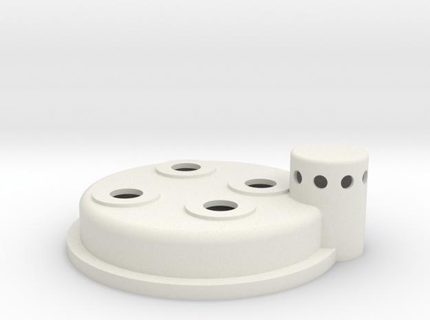 Cyclotron in White Natural Versatile Plastic